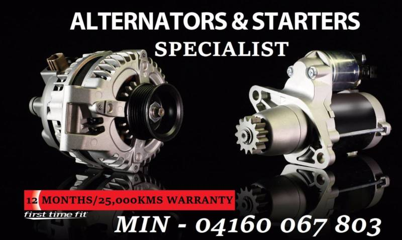 starter motor reconditioned